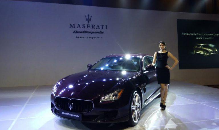 Maserati Quattroporte Terbaru Hadir di Indonesia