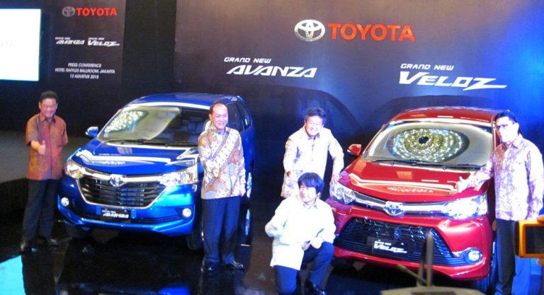 Resmi, Toyota Hadirkan Grand New Avanza dan Grand New Veloz