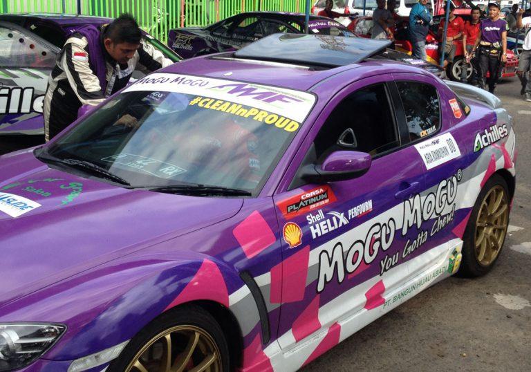 Drifter Nasional Akbar Rais Ajak Pemilik Mobil Mencintai Kebersihan Mesin