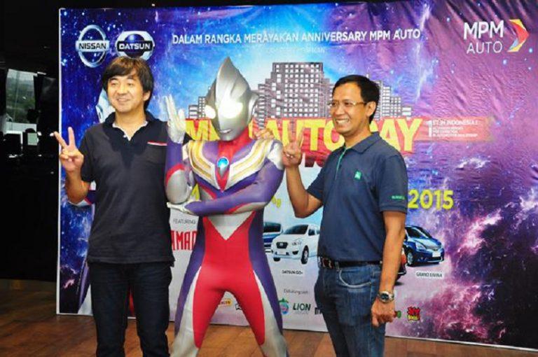 Ultraman Tiga Meriahkan Ulang Tahun Kedua MPMAuto