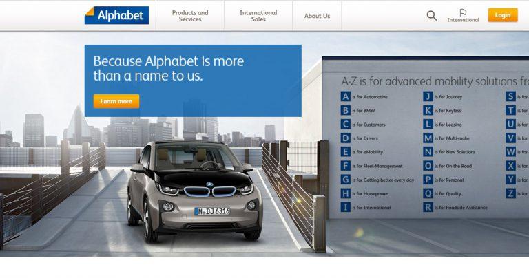 Sebelum Diklaim Google, Ternyata Merek Alphabet Sudah Dimiliki BMW