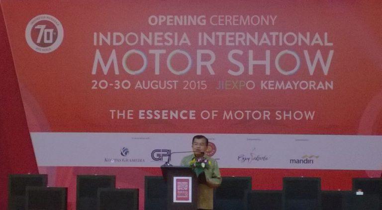 Jusuf Kalla: Pameran Otomotif Perlu Dilakukan Saat Ekonomi Sedang Lesu