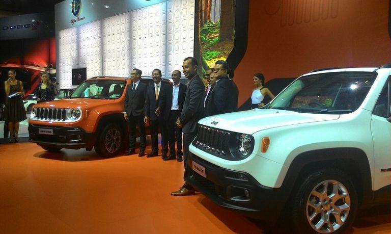 New Jeep Renegade 2015 Melenggang di IIMS 2015