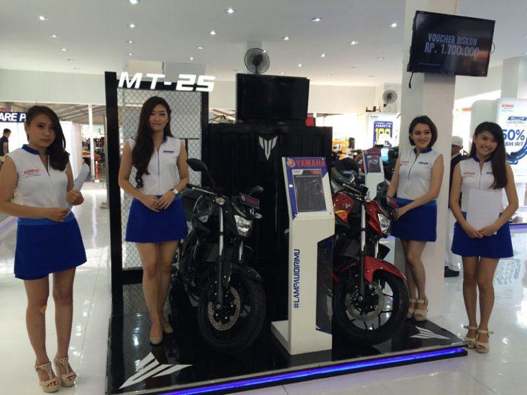 """Yamaha """"My Bike is Pride"""" di IIMS 2015 Lanjutkan Kesuksesan dari Jakarta Fair."""