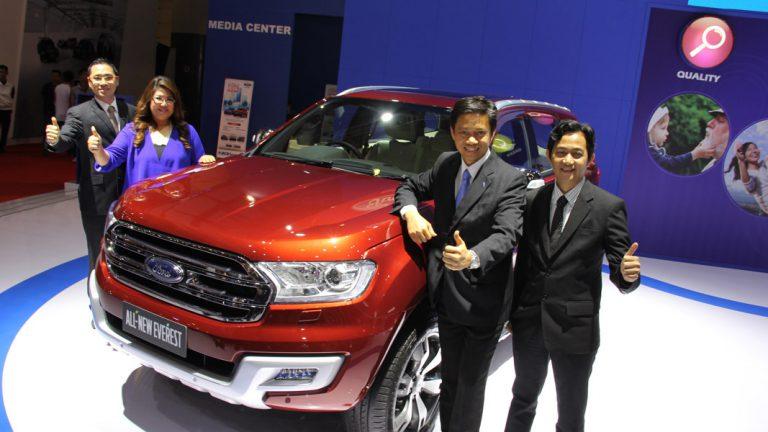 Di IIMS 2015, Ford Luncurkan New Ranger, New Focus, dan All New Everest