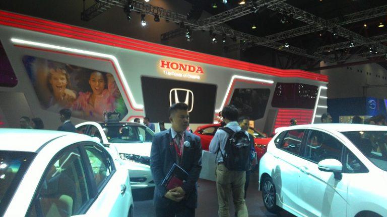 Rangkaian Mobil Terbaru Honda Ramaikan IIMS 2015