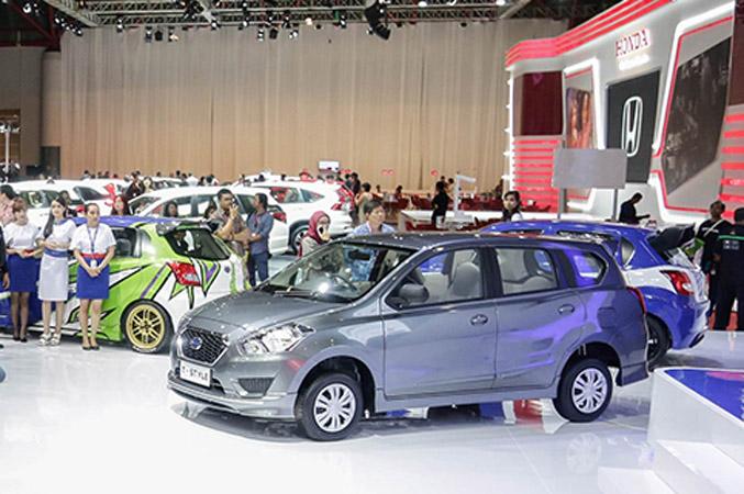 Di IIMS 2015, Varian Baru Datsun GO+ Panca T-Style Dijual Rp 115 Juta