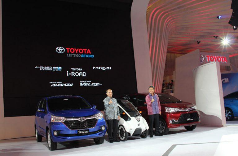 Tiga Mobil Masa Depan Hadir di Booth Toyota
