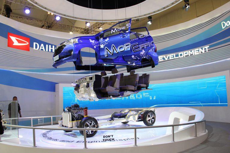 "Booth Daihatsu Angkat Tema ""Fun Experience With Your Best Friend"" di GIIAS 2015"
