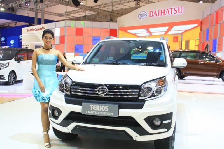 Sisa 1 Unit di Hari Kelima GIIAS 2015, Daihatsu Terios Limited Edition Laku Keras