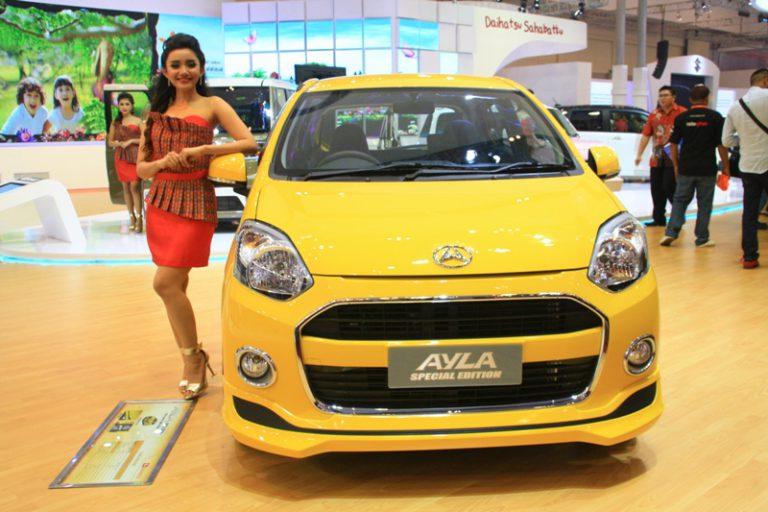 Daihatsu Ayla Special Edition Berkonsep Colorful dan Sporty Hadir di GIIAS 2015