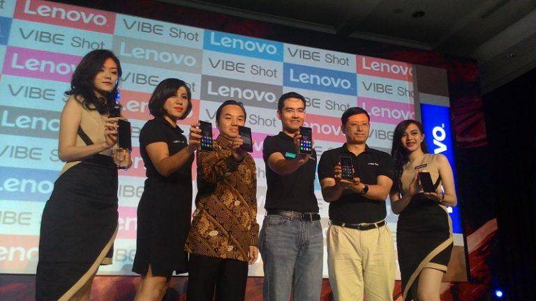 Kombinasikan Fungsi Telepon dan Kamera, Lenovo Boyong Vibe Shot ke Indonesia