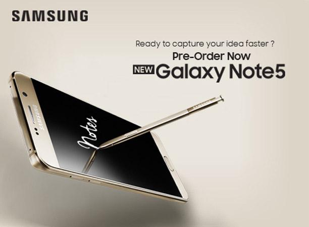 Samsung Gandeng Dinomarket untuk Pre Order Galaxy Note 5