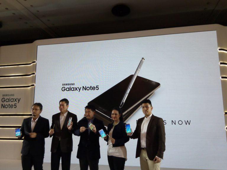 Samsung Galaxy Note 5 Mendarat di Indonesia