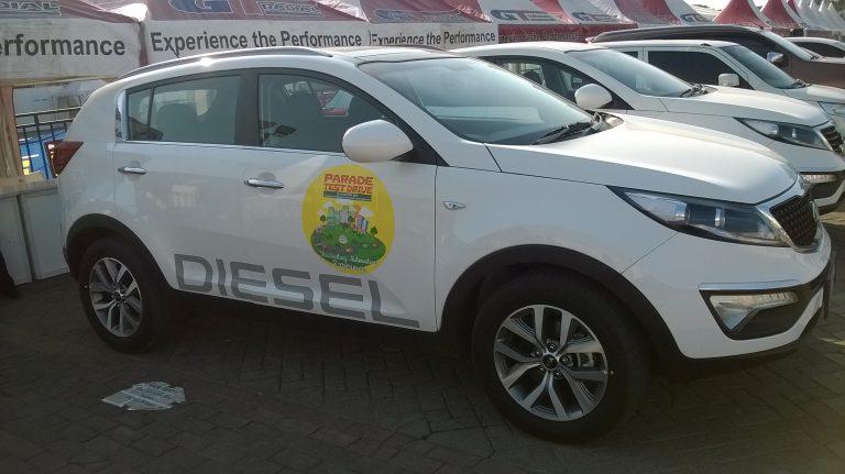Menjajal KIA New Sportage Diesel di Parade Test Drive IIMS
