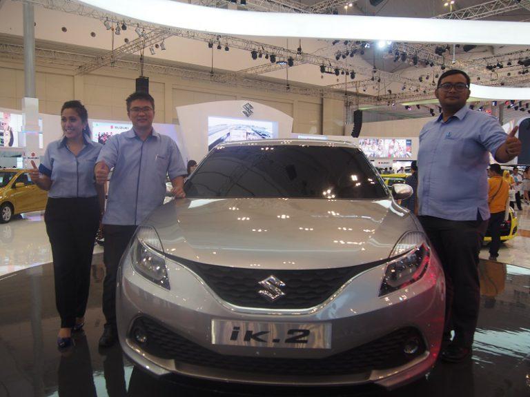 Suzuki Perkenalkan iK-2 Concept Pada Ajang GIIAS 2015