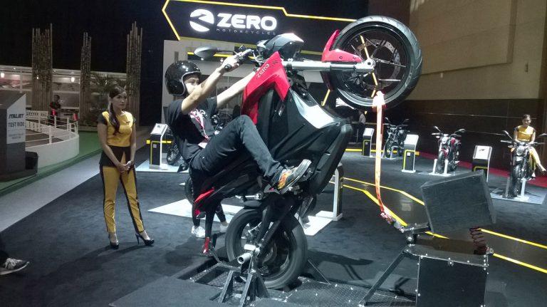 Melalui IIMS 2015, Zero Motor Mulai Lirik Pasar Motor Indonesia