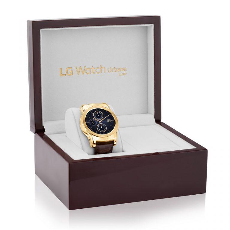 Lapis Emas, LG Watch Urban LUXE Dibanderol US$1200
