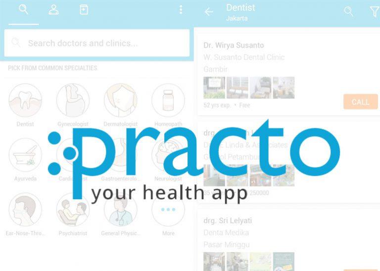 Layanan Booking Dokter Practo akan Segera Hadir di Indonesia
