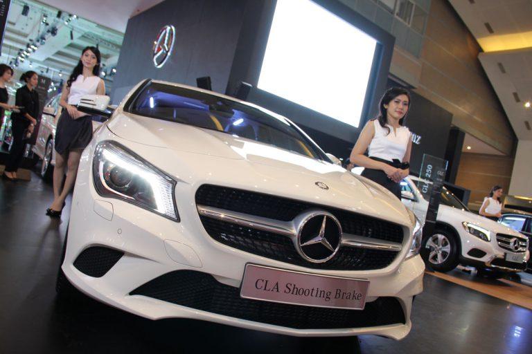 Mercedes Benz: Booth Termewah di IIMS 2015