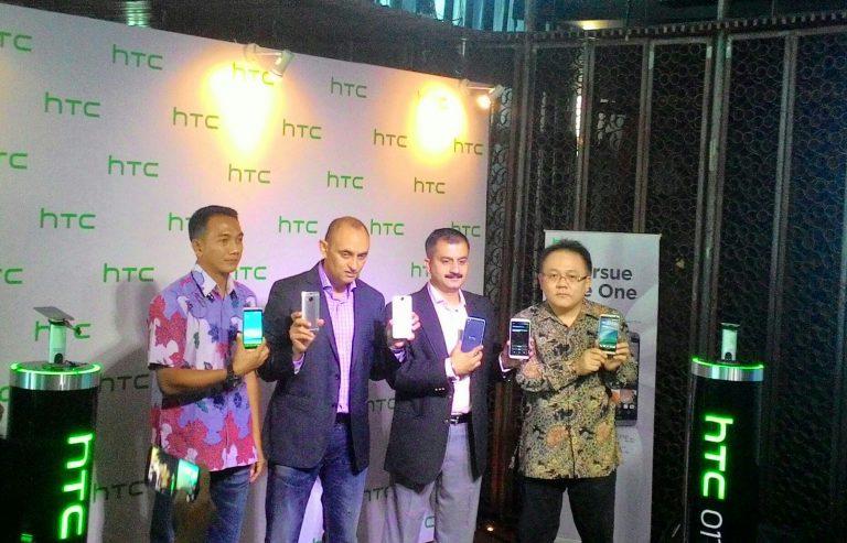 Tiga Warna, HTC One M9+ Dibanderol Rp 10 Juta