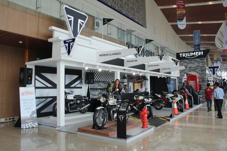 Booth Triumph Terpilih Menjadi Booth Favorit Non APM di GIIAS 2015