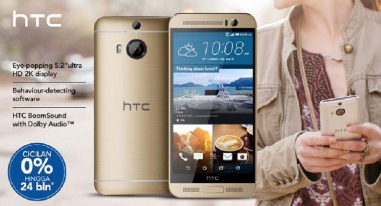 Tertarik Beli HTC One M9+ dengan Potongan Harga? Sambangi Tiga E-Commerce Ini