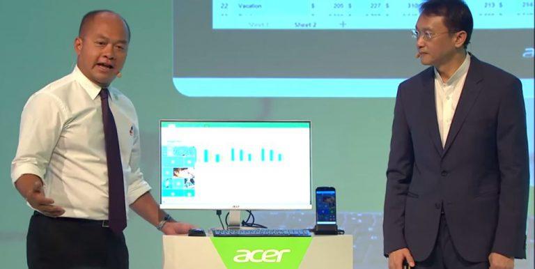 Acer Jade Primo: Smartphone Windows 10 yang Bisa Menjadi PC Berkat Fitur Continuum