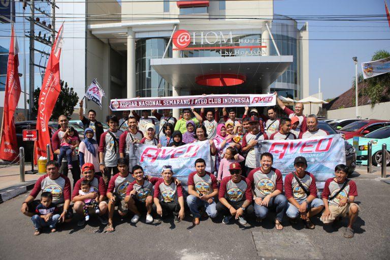 "Aveo Club Indonesia Gelar ""Halal Bihalal ACI Touring"" ke Kota Semarang"