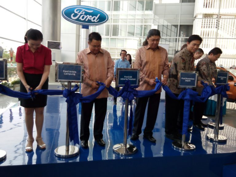 Resmikan 9 Dealer Baru, Kini Ford Miliki 47 Dealer di Indonesia