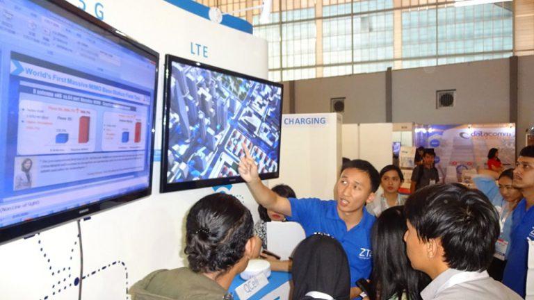 Ramaikan Bandung ICT Expo 2015, ZTE Pamerkan Ragam Solusi untuk Indonesia