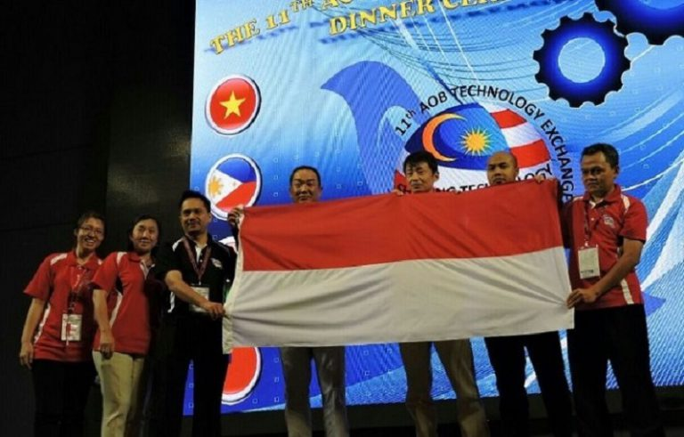 Tim Engineer AHM Sabet Inovasi Terbaik di Ajang The 11th Asia & Oceania Technology Exchange