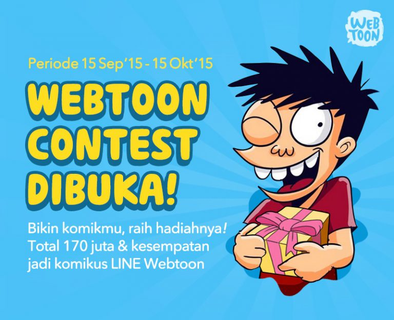 Rangkul Komikus Berbakat Tanah Air, LINE Gelar Kompetisi LINE Webtoon Contest