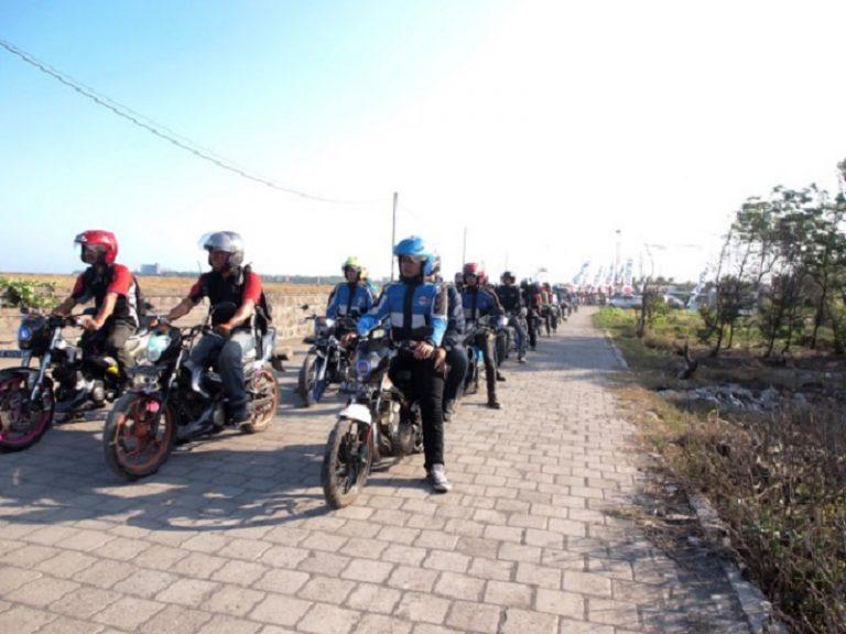 Ramaikan Jambore Nasional SSFC Ke-4, 1000 Pemilik Suzuki Satria FU150 Kumpul di Bali