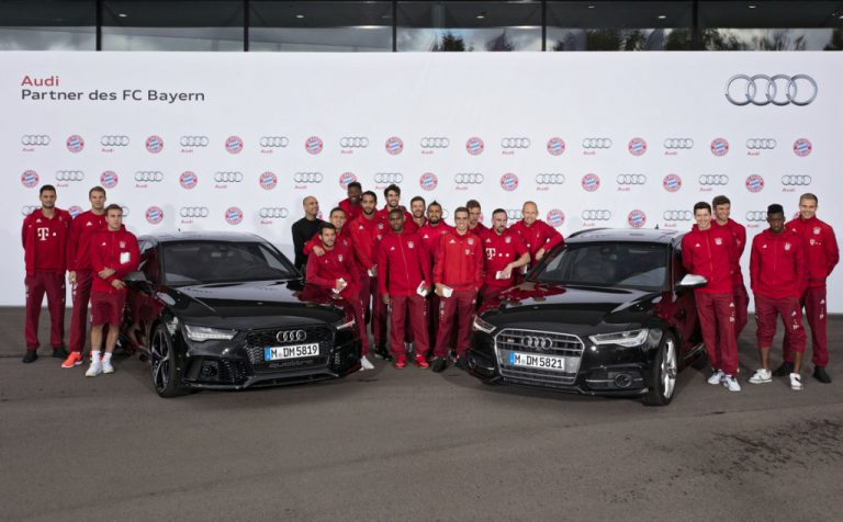 Sukses di Awal Kompetisi Berbuah 50 Mobil Audi Bagi FC Bayern Munich