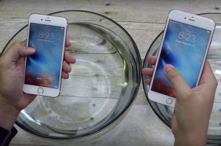 Video ini Tunjukkan Dua iPhone Terbaru Sudah Waterproof
