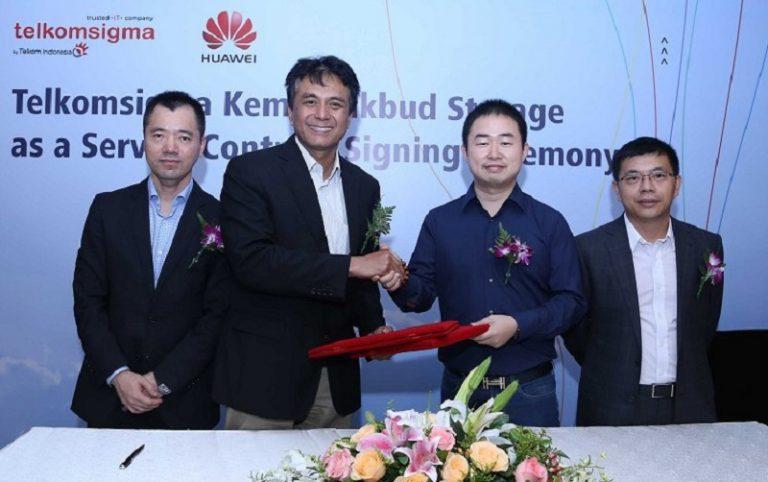 Telkomsigma Gandeng Huawei Sediakan Solusi Data Center untuk Sektor Pendidikan