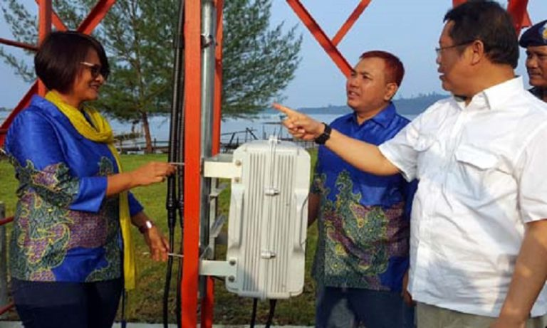 Satu Lagi BTS 3G XL Berdiri di Pulau Simeulue