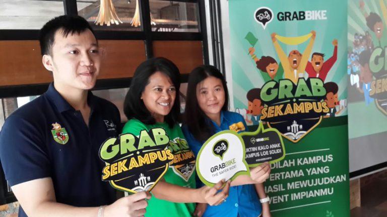 Melalui Grab Sekampus, GrabBike Dorong Anak Muda Lebih Kreatif dalam Berwiraswasta