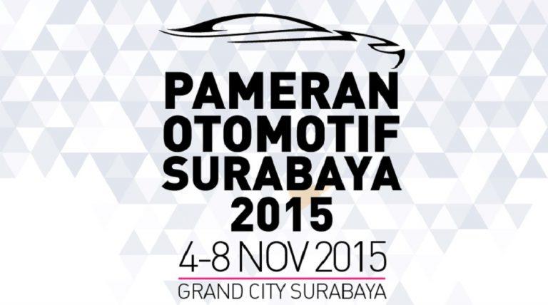 Pameran Otomotif Surabaya 2015 Digelar Awal November Mendatang