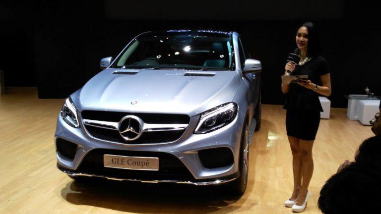 Mercedes-Benz Luncurkan Seri GLE 400 AMG Coupe