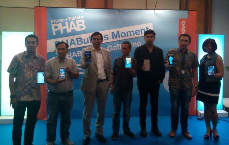 Lenovo Perkenalkan PHAB Series, Tersedia Eksklusif di Blibli.com