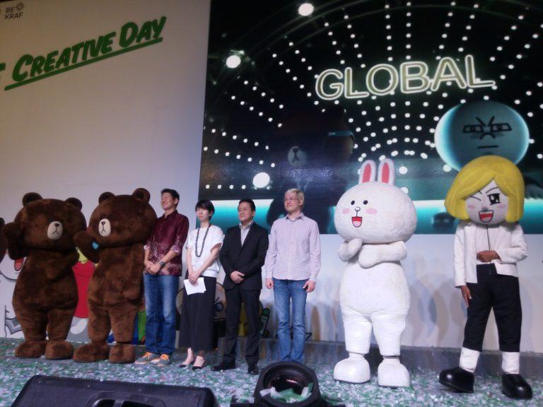 """Dukung Industri Kreatif di Indonesia, LINE Gelar """"LINE Creative Day 2015"""""""