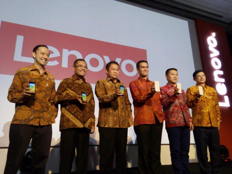 Tancap Gas, Lenovo Langsung Rakit Dua Smartphone 4G Seri A di Banten