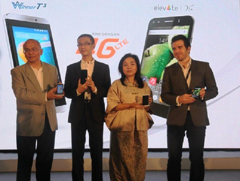 Smartphone Evercoss 4G Pertama Dijual di Lazada