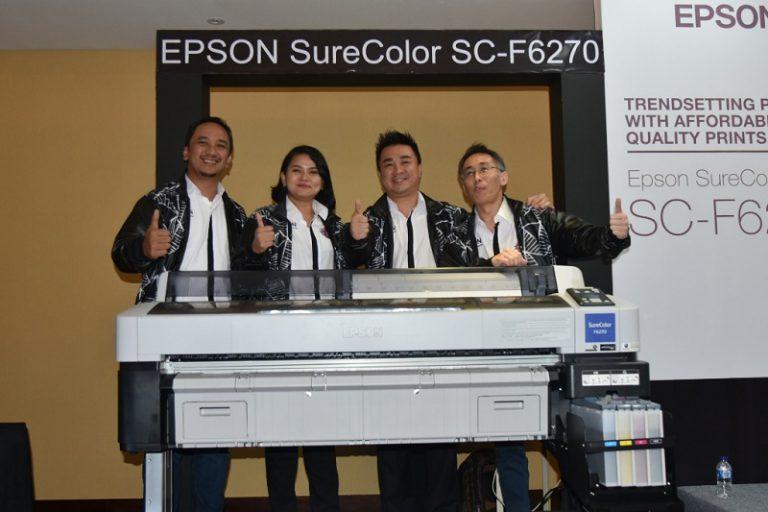 Sasar Pasar Tekstil Indonesia, Epson Perkenalkan Tiga Printer F-Series Terbaru