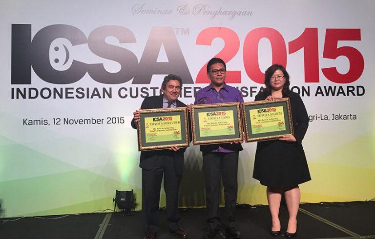 Hasilkan Kendaraan Terbaik, PT TAM Sabet Tiga Penghargaan di Ajang ICSA 2015