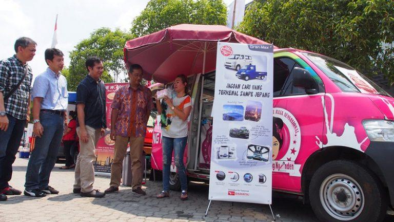 Rayu Pebisnis Makanan, Daihatsu Pamerkan Puluhan Gran Max MOKO di Festival Kuliner Nusantara