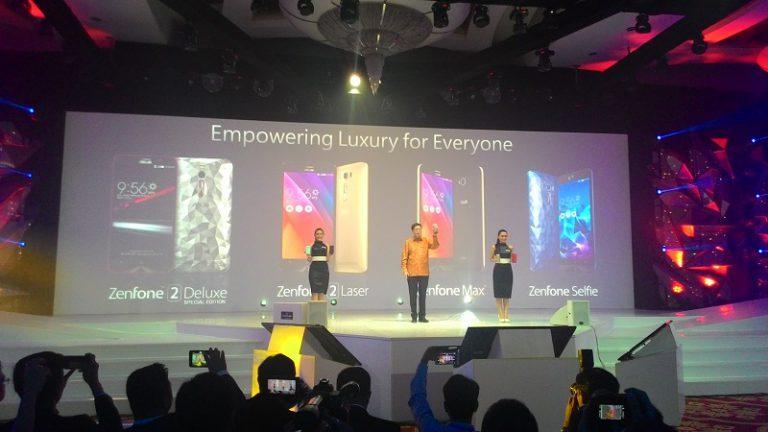 Ajang ZenFestival 2015, ASUS Perkenalkan Empat Smartphone Barunya