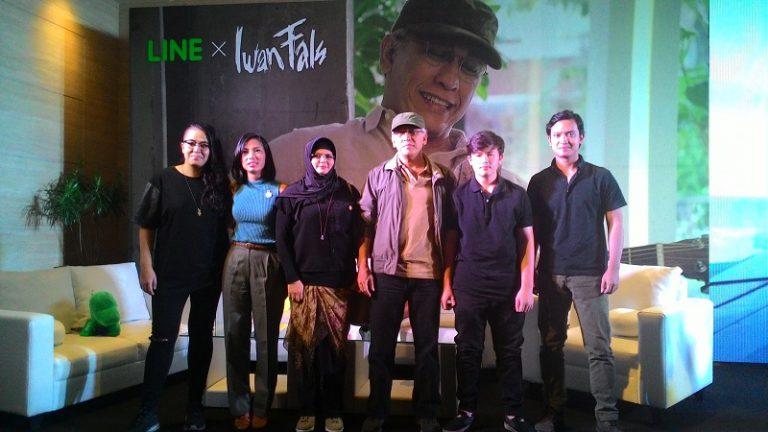 Kolaborasi LINE dan Iwan Fals, Bicara Soal Keluarga
